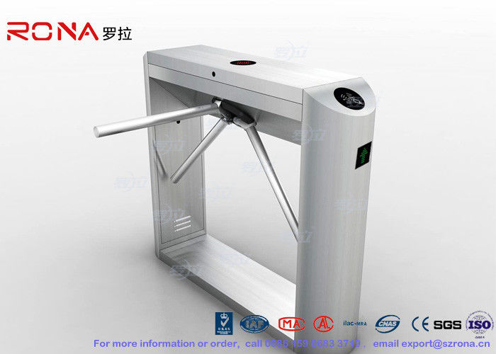 Automatic Tripod Turnstile Gate Stainless Steel Mechanism for Factory Entrance