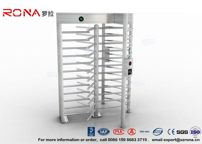 High Security Full High Turnstile Stainless Steel Access Control For Prisons Turnstile