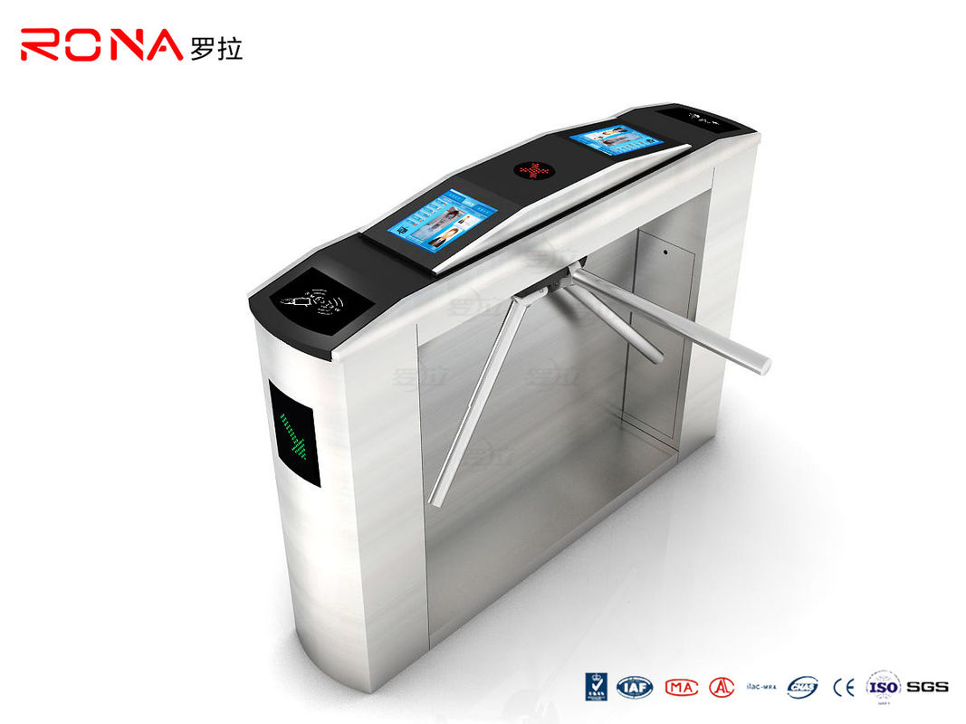 Electromagnetic Valve Tripod Turnstile Gate Automatic Scenic Area Ticket System